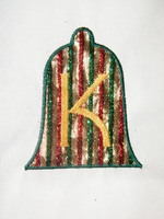 Applique Bell Monogram