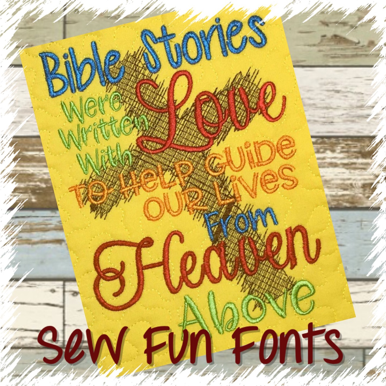 Bible Stories Were Written With Love Reading Saying
