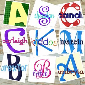 Alphabet Fonts