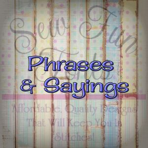 Phrases & Sayings