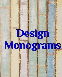 Design Monograms